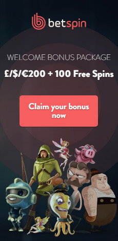 Betspin Welcomebonus